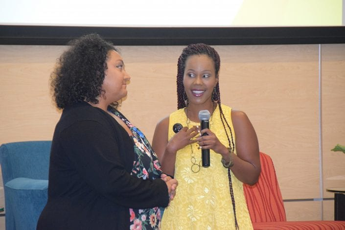 Motivational Speaker Summer Owens speaks at Total Woman Summit