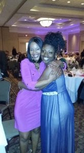 Motivational speaker and former teen mother Summer Owens after the Fontebella Maternity Home banquet