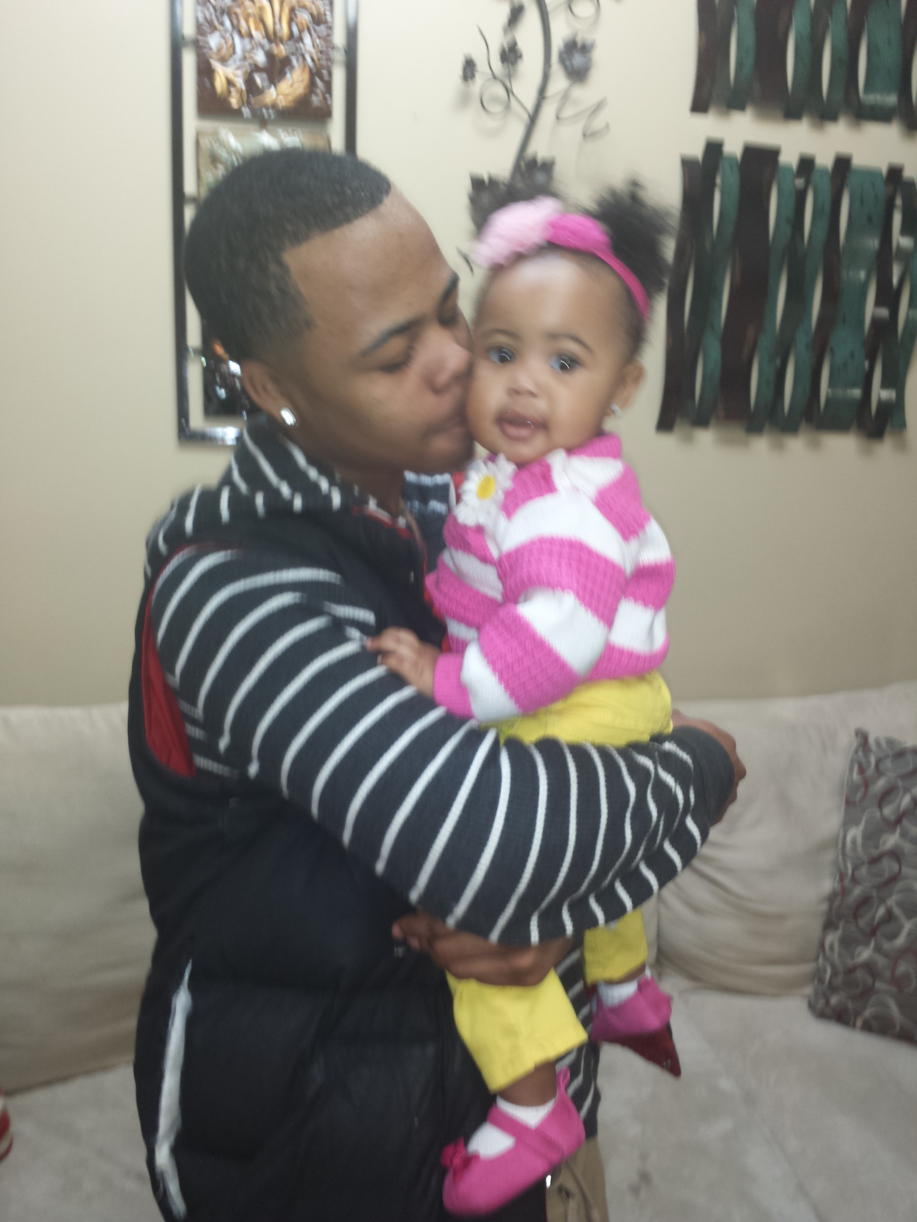 My son and Granddaughter