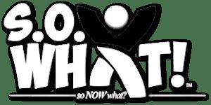 S.O. What! Logo