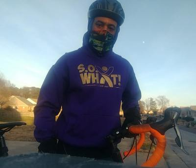 S. O. What! Hoodie Omega Psi Phi Colors