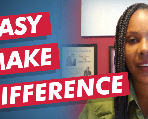 Summer shares a lesson learned from her memoir on how to make a difference.