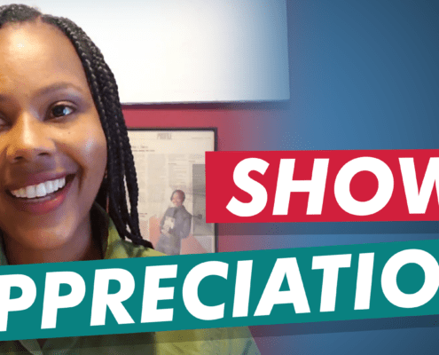 Summer shares a lesson learned from her memoir on how to show appreciation