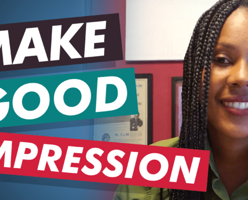 Summer shares a lesson learned from her memoir on how to make a good impression.