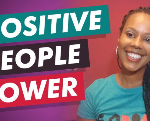 Summer shares a lesson learned from her memoir on positive people power.