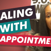 Summer shares a lesson learned on dealing with disappointment.