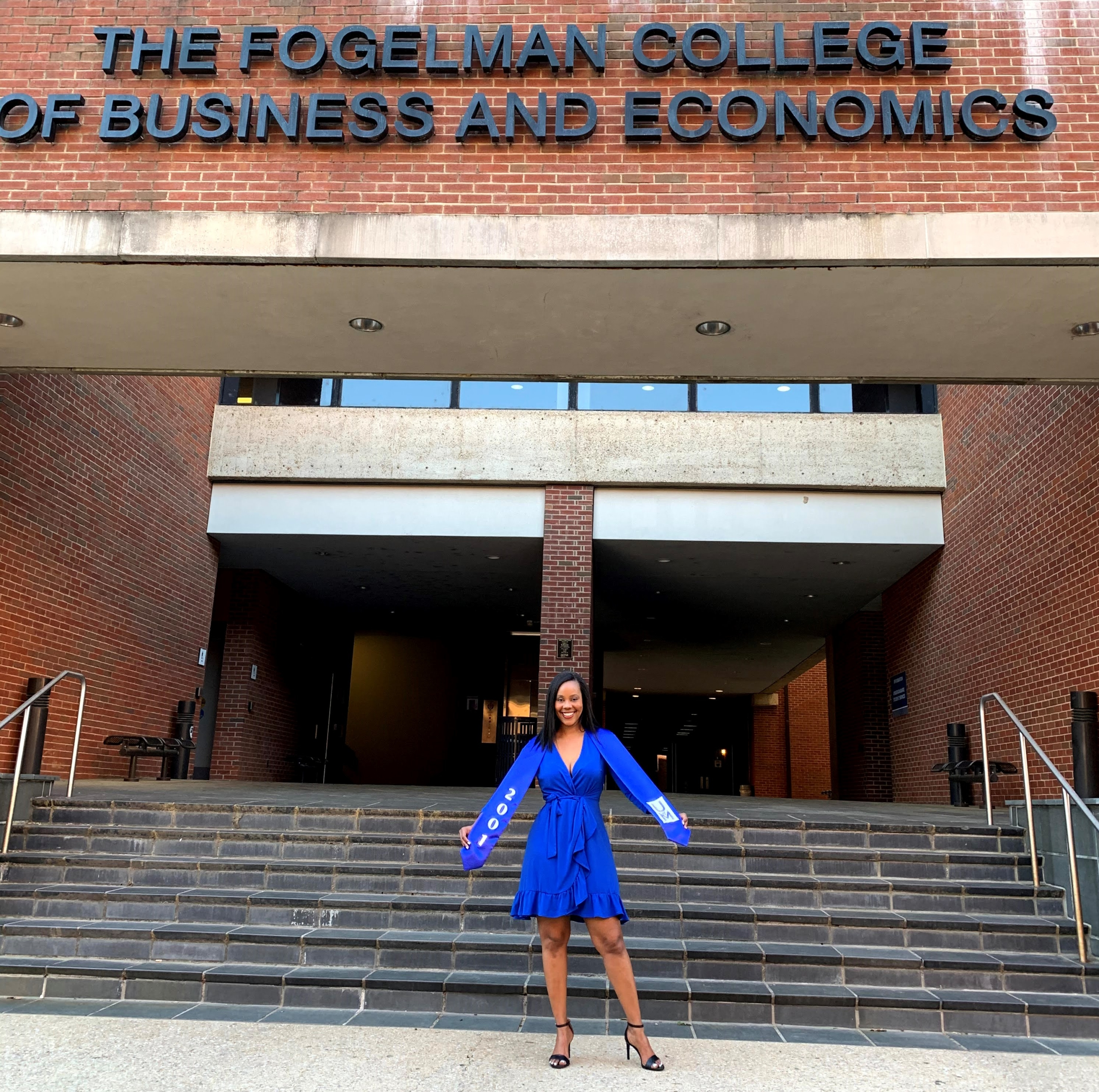 Summer Owens at Fogelman College of Business and Economics